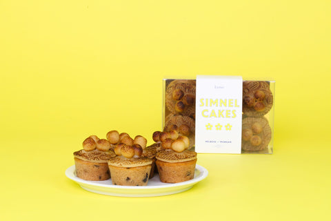 Simnel Cake Box of Six Minis