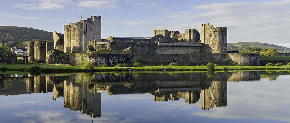 Caerphilly Castle (Castell Caerffili) is a medieval fortification in Caerphilly in South Wales. The castle was constructed by Gilbert de Clare in the 13th century as part of his campaign to maintain control of Glamorgan
