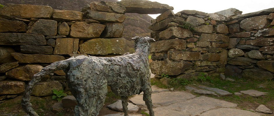 Bedd Gelert - Legend of the faithful hound gelert