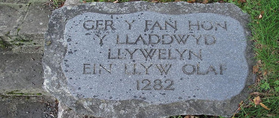 Cilmeri Memorial Monument - Prince Llyewelyn