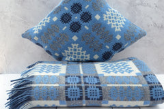 Welsh tapestry blankets and cushions - Nothing says hiraeth more than an iconic Welsh tapestry blanket