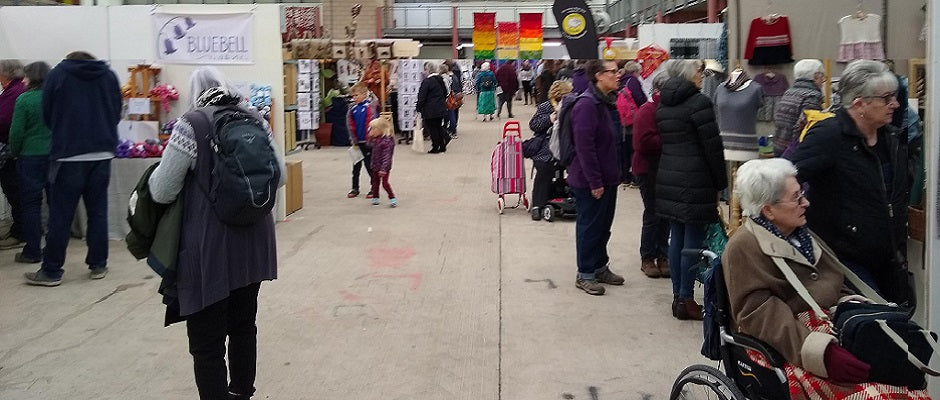 Crowds at Wonderwool Wales