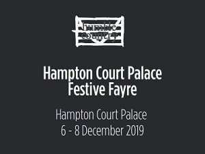 Hampton Court Palace Festive Fayre 6 – 8 December 2019