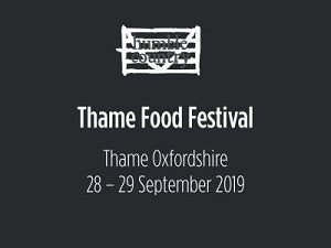 Thame Food Festival 28 – 29 September 2019