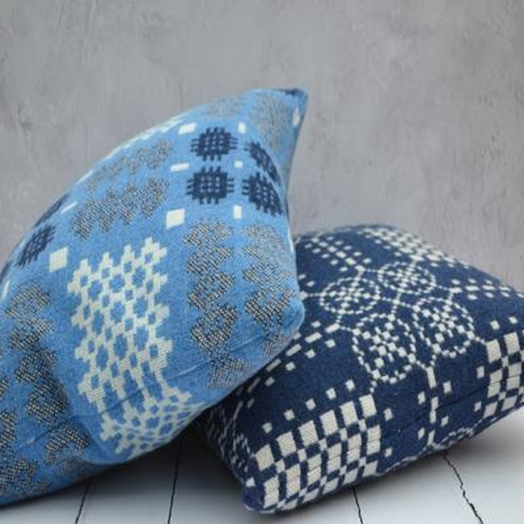 Welsh tapestry cushions - traditionally woven in Wales