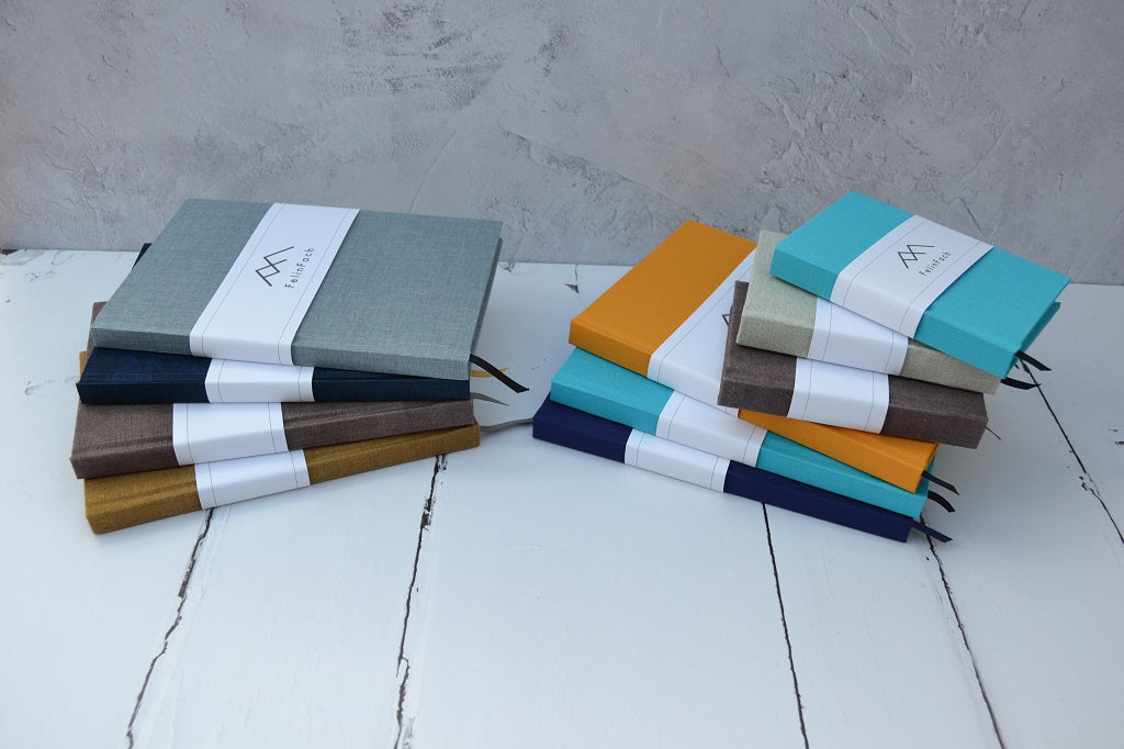 Hand Bound Books - A5 and A6 sizes – Bound with quality book cloth