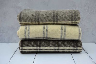 Rare breed welsh woollen blankets and throws | Welsh Black and Ryeland Sheep Breeds