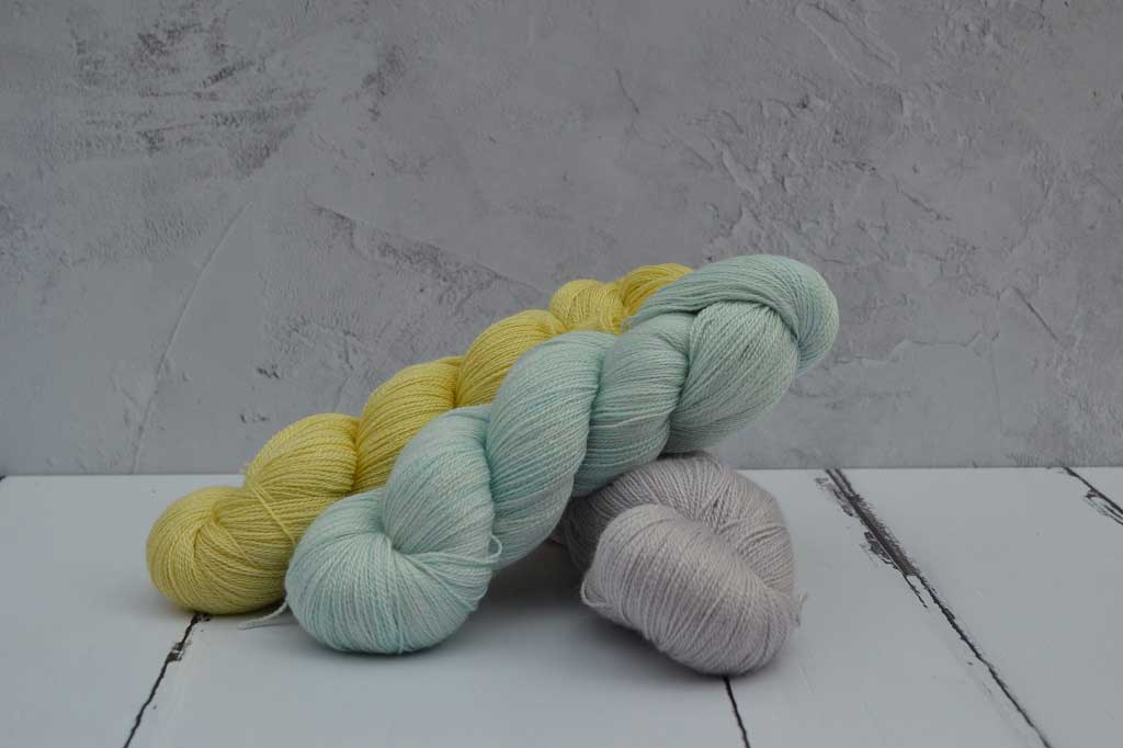 Hand dyed using botanical dye Golden Rod, Logwood,Saxon Blue