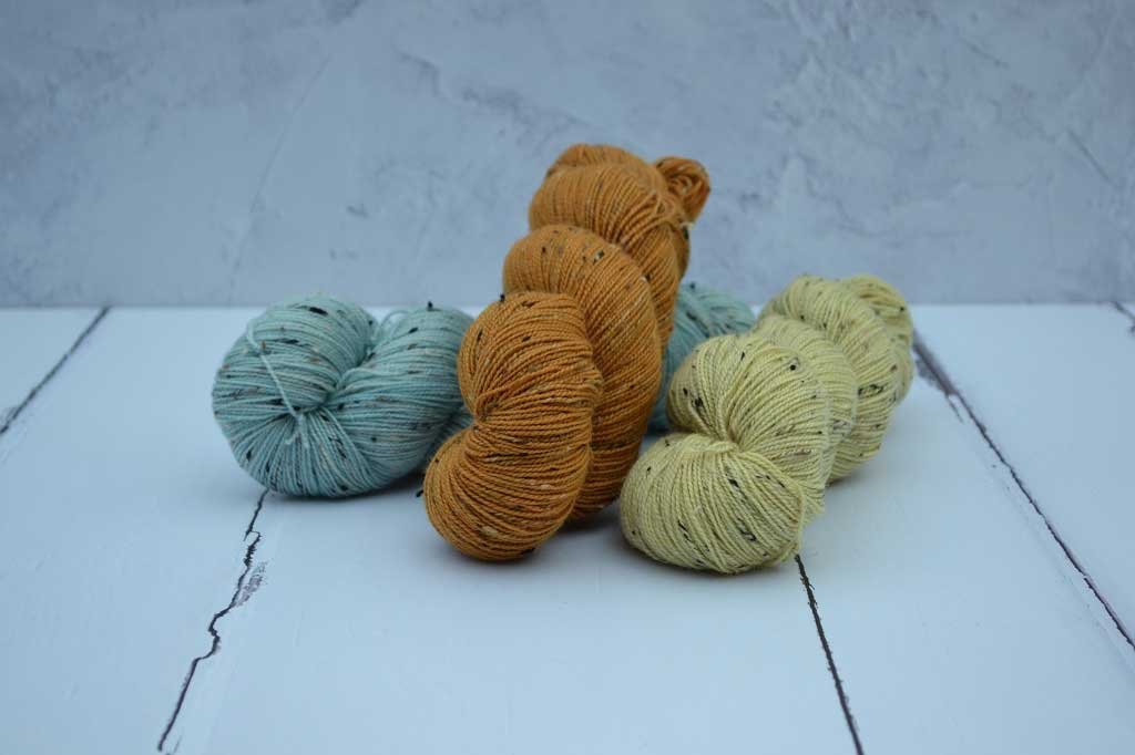 Donegal 4 Ply hand dyed