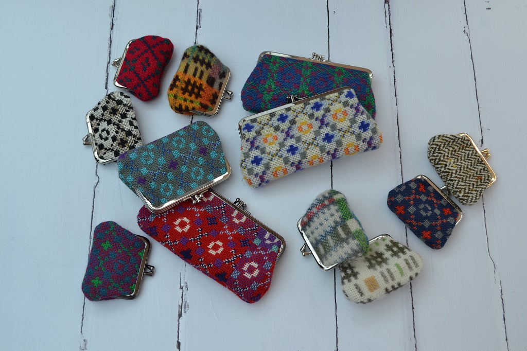 Welsh Tapestry Purses - Traditionally woven in Wales - A perfect gift from Wales