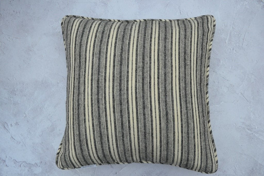 Grey Cream Stripe