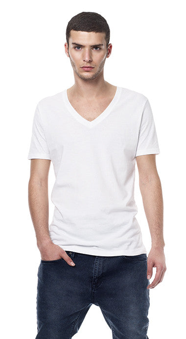 EARTHPOSITIVE® MENS V-NECK T