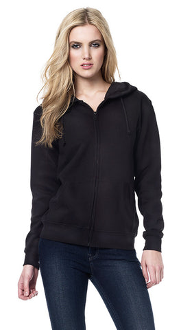 EARTHPOSITIVE® WOMENS HOODED ZIP-UP