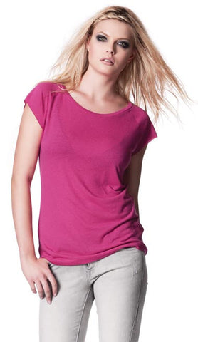 LADIES BAMBOO RAGLAN T-SHIRT