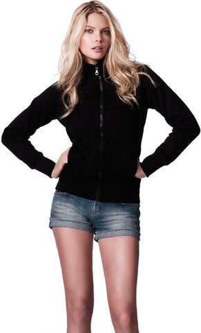 WOMENS SWEAT JACKET WITH POCKETS