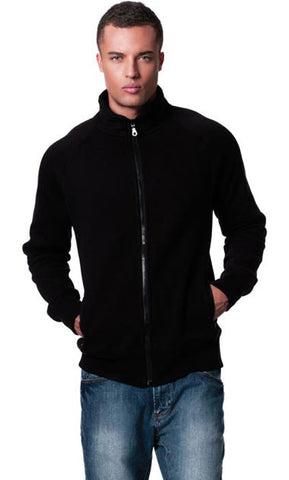 MENS SWEAT JACKET WITH POCKETS
