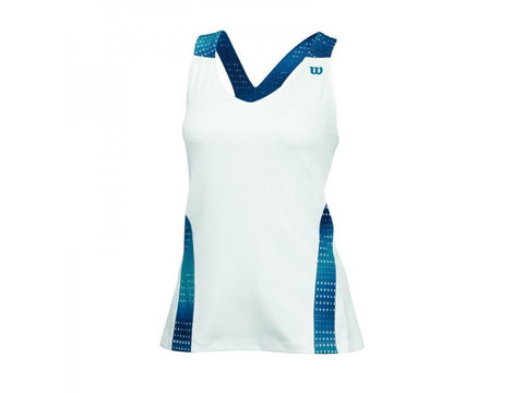 W SU COLORFLIGHT V NECK TANK