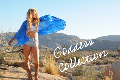 Goddess Collection Bohemian fashion