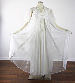 60s Peignoir set