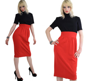 Vintage 80s Mod color block party cocktail dress - shabbybabe  - 3