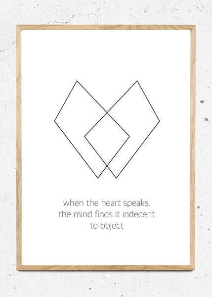Heart Quote fra Posture