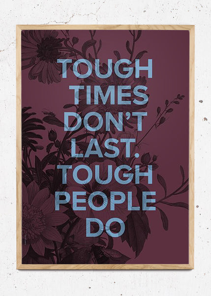Tough People - Claret fra I Love My Type