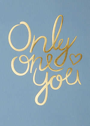 Only One You - New Blue fra I Love My Type