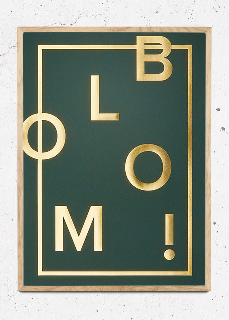 Bloom! Racing Green fra I Love My Type