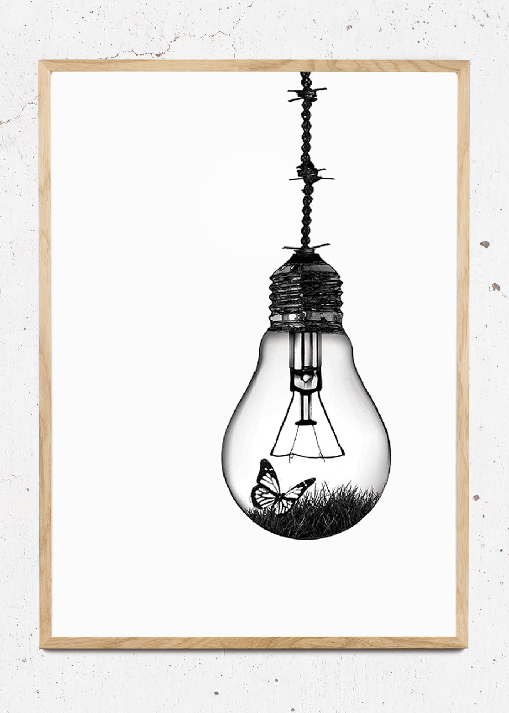 Plakat af Lightbulb fra Hang It Up