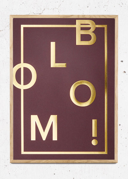 Bloom! Claret fra I Love My Type