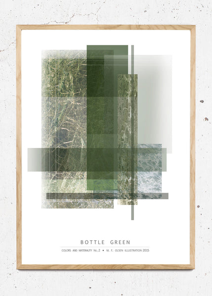 Bottle Green fra Matilde Olsen