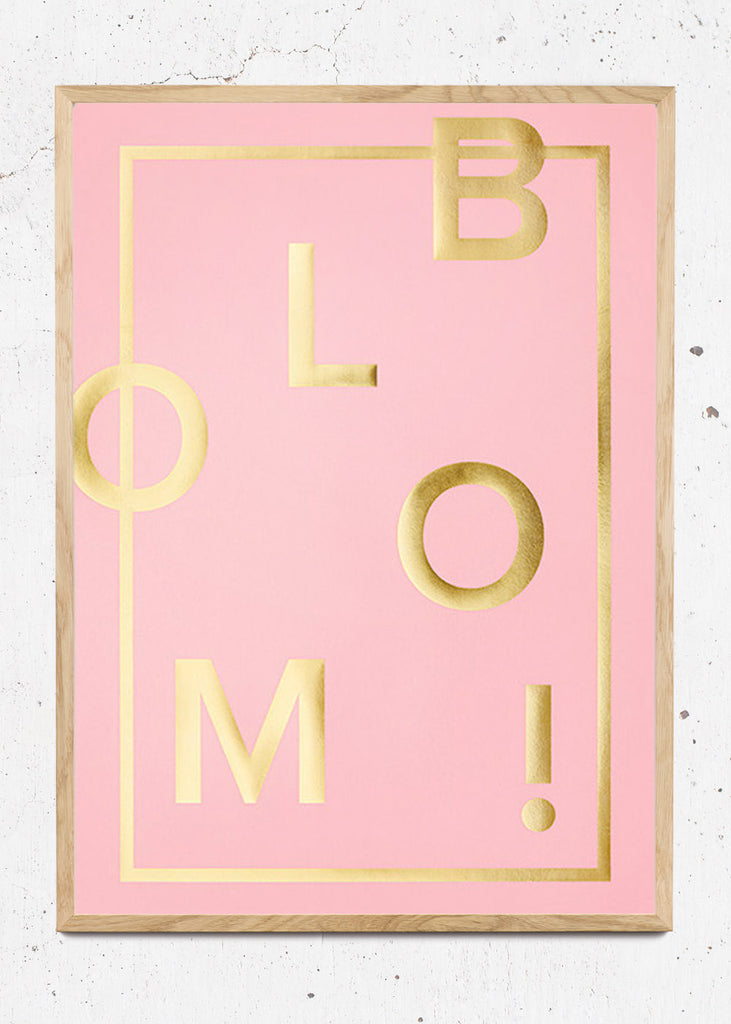 Bloom! Candy Pink fra I Love My Type