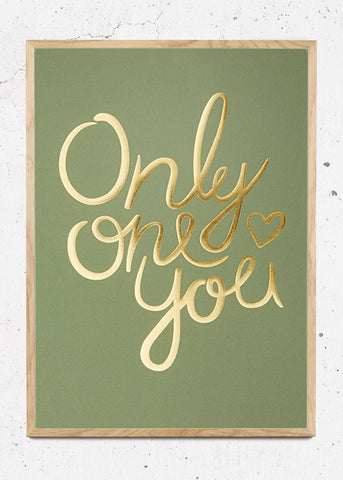 Only One You - Mid Green