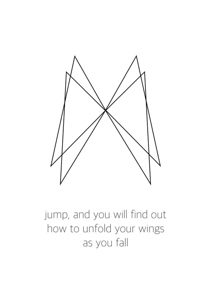 Wings Quote fra Posture