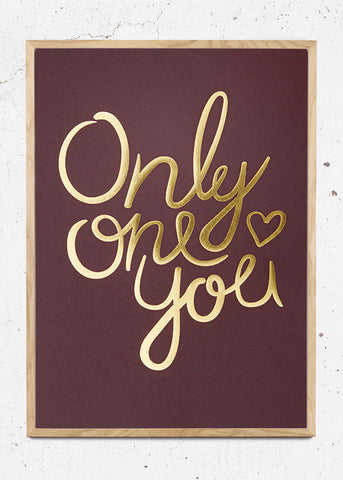 Only One You - Claret