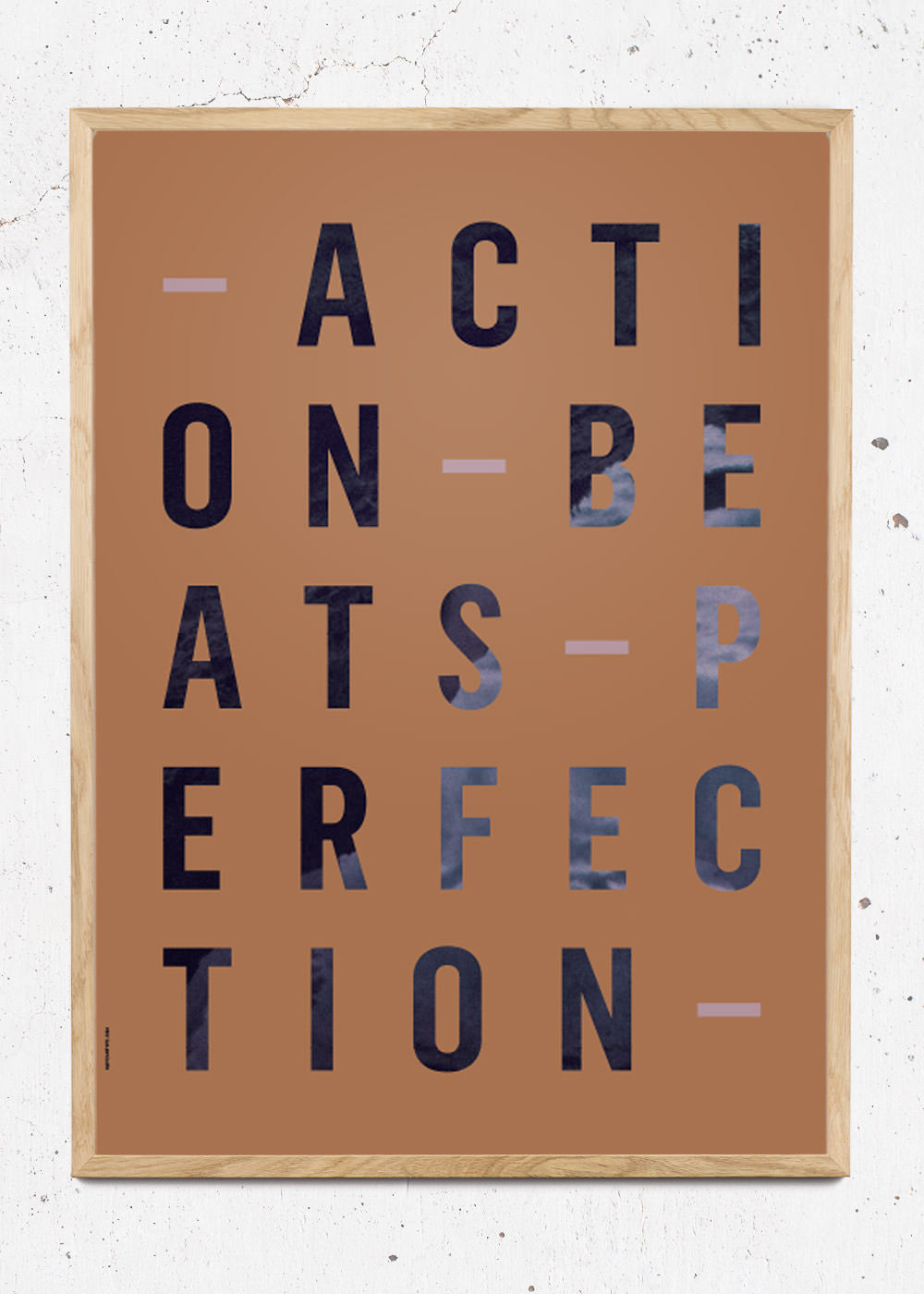 Plakat af Action Perfection - Amber fra I Love My Type