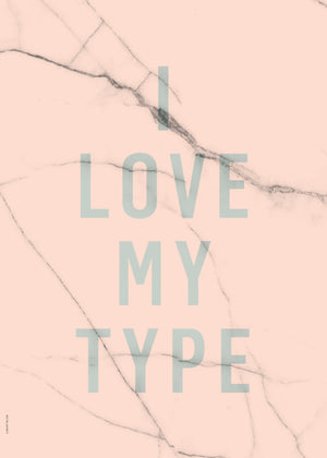 I Love My Type - Rose fra I Love My Type
