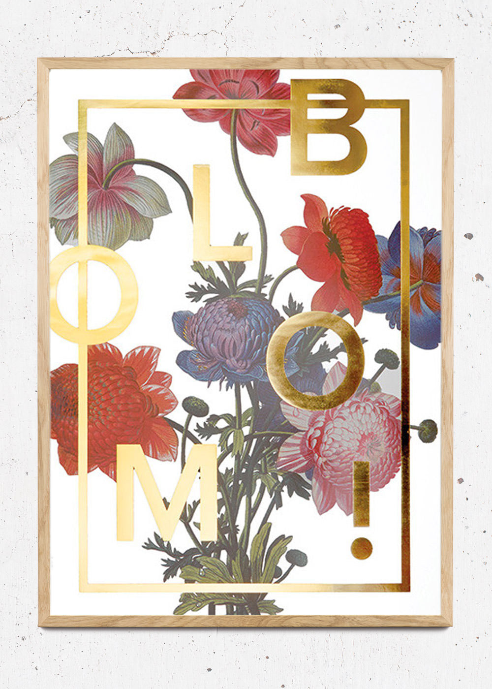 Plakat af Bloom! Gold fra I Love My Type