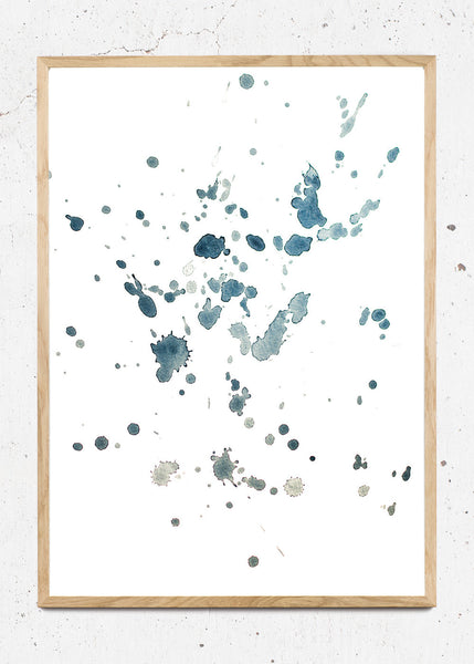 Blue Waters Splash fra Trine Holbaek Designs