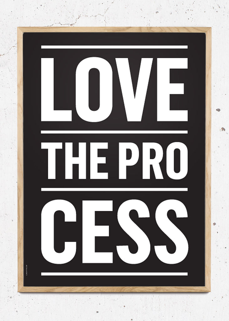 Process - Black fra I Love My Type