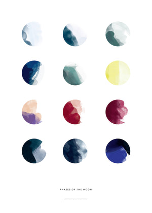 Moon Phases fra Paper Collective