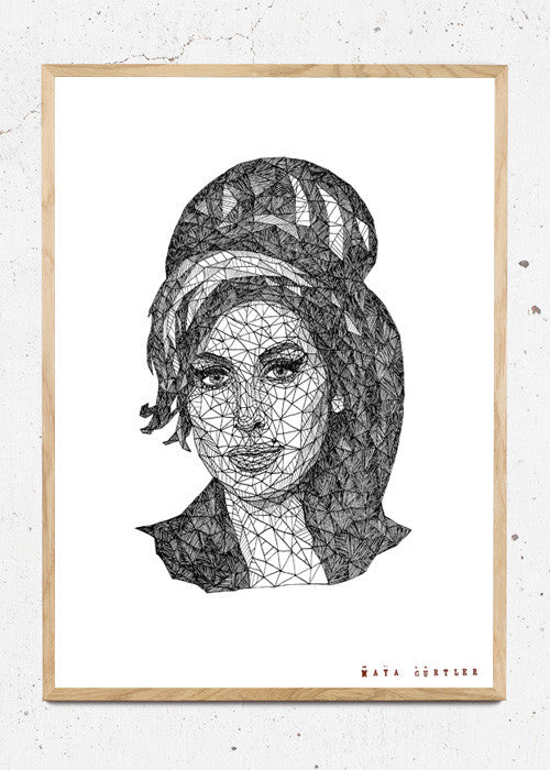 Amy Winehouse fra Maya Gurtler