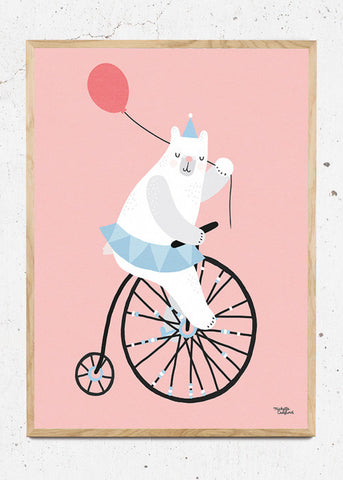 Cycling Bear
