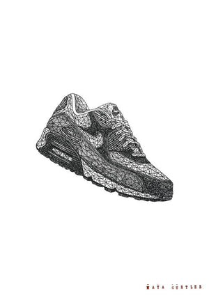 Air Max 90 fra Maya Gurtler