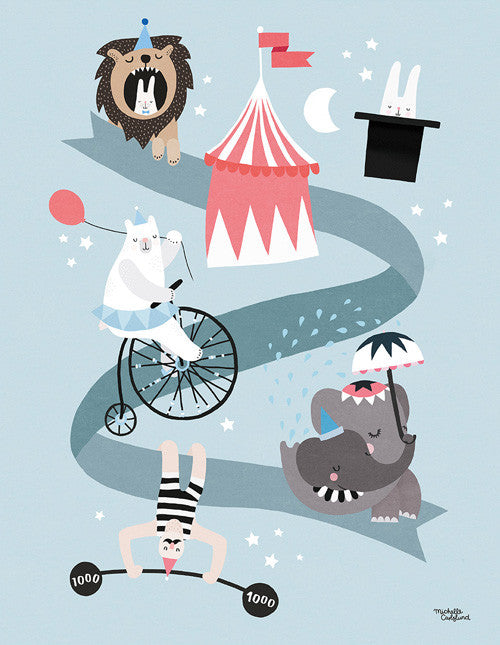 Circus Friends fra Michelle Carlslund