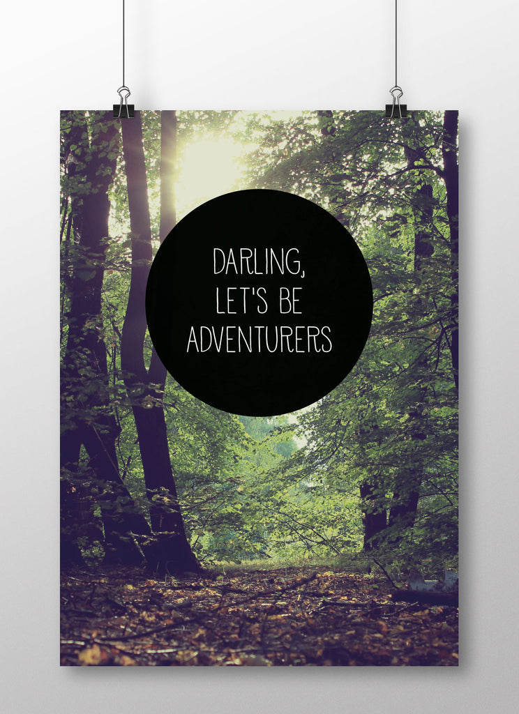 Darling, let's be adventures fra Away From The City