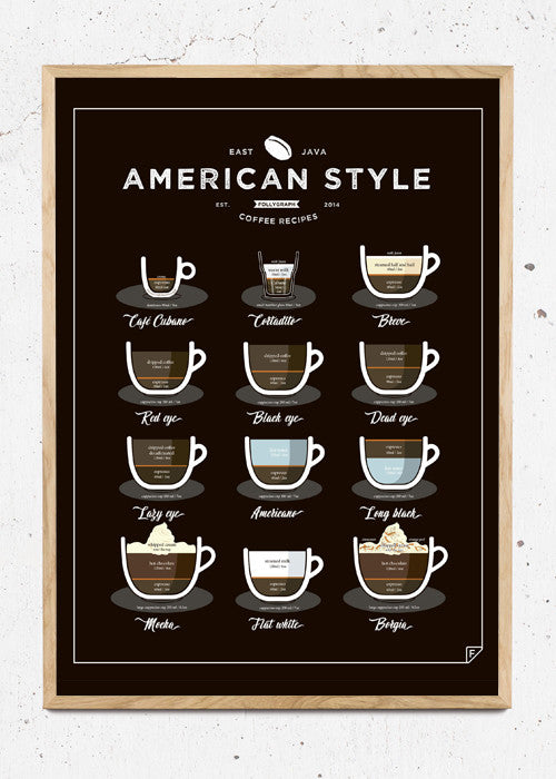 American Style Coffee fra FOLLYGRAPH