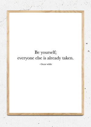 Be yourself fra SimpleArt