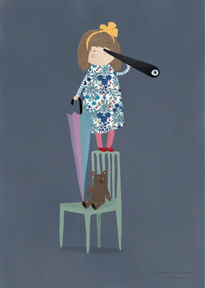 Look out! fra Petra Willero Illustration