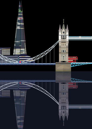 Tower Bridge & The Shard fra Sivellink
